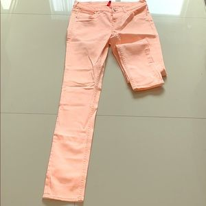 Salmon Divided by H&M Skinny Pants